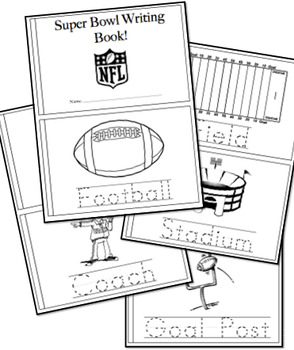 Super Bowl Bundle- 2 Interactive Books
