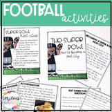 Football Themed Activities - Super Bowl 2019 Bundle
