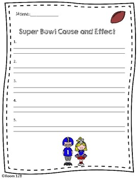 Super Bowl Cause and Effect Project