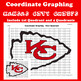Super Bowl Coordinate Graphing Picture: Bundle 12 in 1