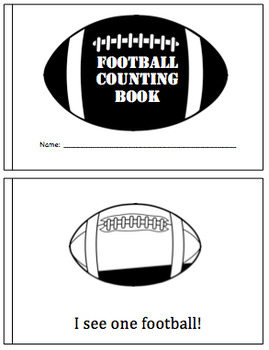 Super Bowl Counting Book