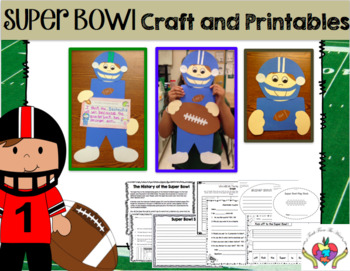 Super Bowl Craft and Printables