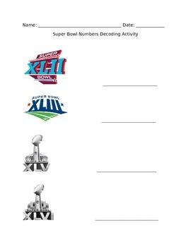 Super Bowl Decoding