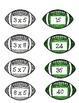 Super Bowl Fish! A Multiplication Game