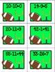 Super Bowl Football Math Center Freebie