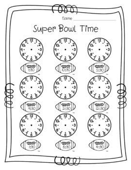 Super Bowl Football Math *2018 UPDATE*
