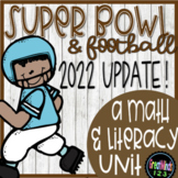 Super Bowl Football Math *2019 UPDATE NOW AVAILABLE*