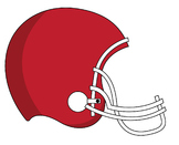 Super Bowl Football Sunday Clip Art_CarlyCreations