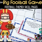 Super Bowl/ Football-themed Activity Pages
