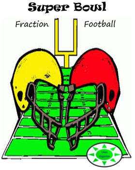 SUPER BOWL Fraction Football!
