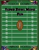 Super Bowl Fun with Math
