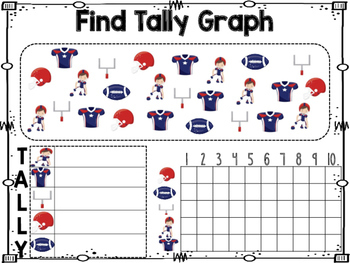 Super Bowl Graphing Math Activity