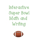 Super Bowl Interactive Math and Writing
