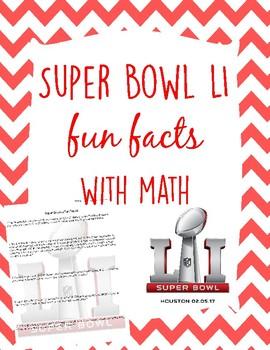 Super Bowl LI Fun Facts