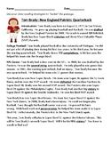Super Bowl LI, Tom Brady nonfiction passage and reading co