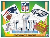 Super Bowl LII - NFL Coordinate Graph