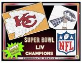Super Bowl LIV Champs - KC Chiefs SUPER PACK Coordinate Graphs