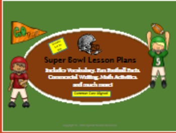 Super Bowl Lesson Plans