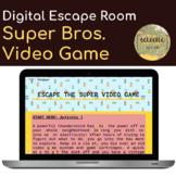 Super Mario Bros. Math Digital Escape Room - Fractions - End of Year