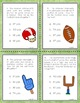 Super Bowl Games Double Digit Add, Subtract, Games and Board, Number Bonds