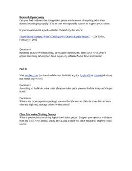 Super Bowl Math & LA by Mr. Media