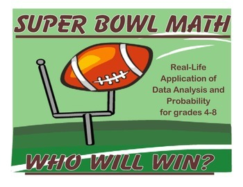 Super Bowl Math Sampler Set