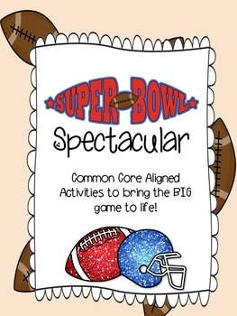 Super Bowl Math Spectacular