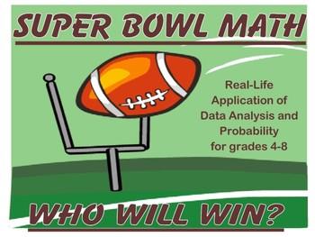 Super Bowl Math Unit 2018 - Updated!