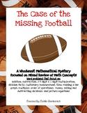 Super Bowl Math- Whodunnit Math Mystery Enrichment
