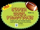 Super Bowl Maths - Fractions