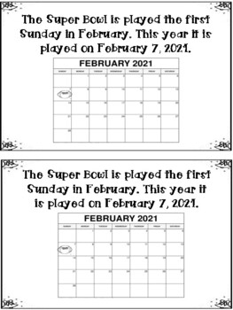 Super Bowl Minireader