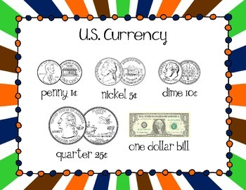 Money Task Cards {Addition and Subtraction} Super Bowl Theme