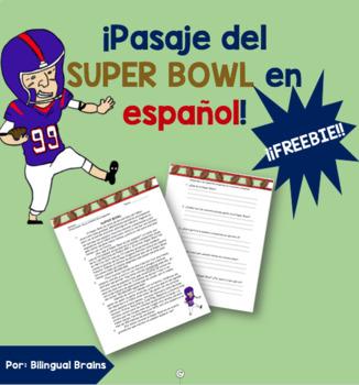 Super Bowl Pasaje en Español/ Super Bowl Passage in Spanish