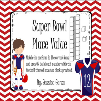 Super Bowl Place Value Math Center