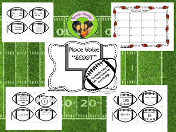 Super Bowl Place Value Review