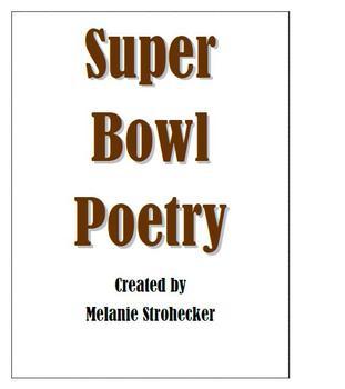 Super Bowl Poetry