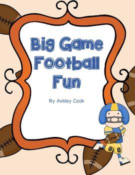 Big Game Football Fun