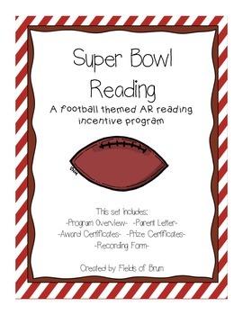 "Accelerated Reader Incentive Program ""Super Bowl Reading"""