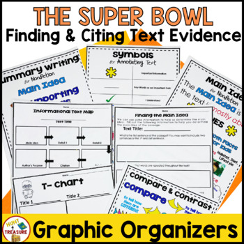 Super Bowl Reading Passage- Finding and Citing Text Evidence