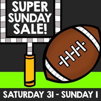 Super Sunday Sale Graphics