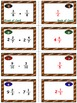 Football Math Skills & Learning Center (Add & Subtract Lik
