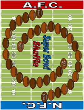 Super Bowl Shuffle (Multiplication with Single-Digit & Two-Digit Multipliers)