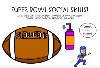 Super Bowl Social Skills!