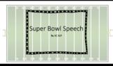 Super Bowl Speech