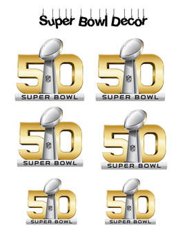 Super Bowl Station Decor