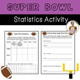 Super Bowl Statistics Activity