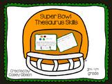 Super Bowl Thesaurus Skills