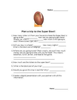 Super Bowl Trip!