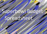 Super Bowl Trip Budget Spreadsheet