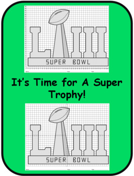 Super Bowl LIII Trophy Mystery Picture Bundle